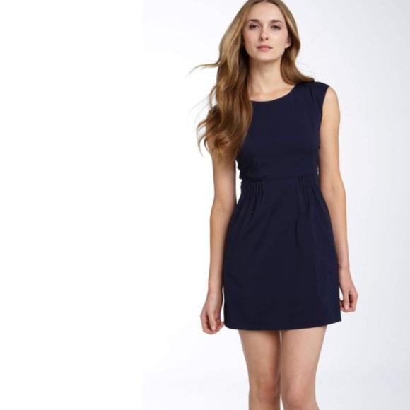 a50fd23adc Theory Dresses | Navy Blue Dress Sz 4 | Poshmark